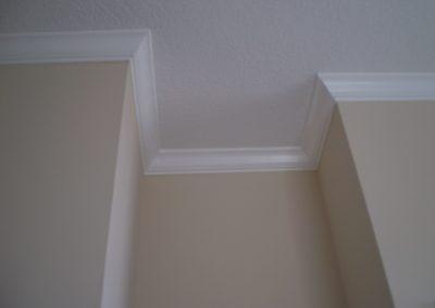 Knockdown ceiling & walls